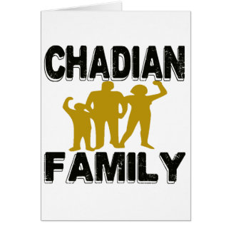Chadian Family Card