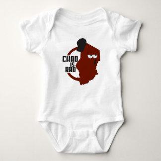 ChadisRad.com Main Logo Baby Bodysuit