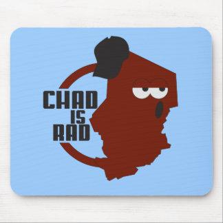 chadisrad.com main logo mouse pad