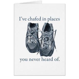 Chafe Greeting Card