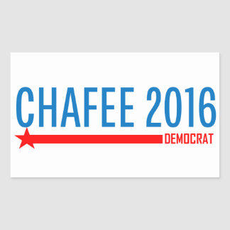 Chafee for President 2016 Rectangular Sticker