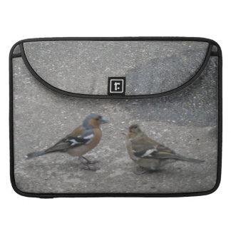 Chaffinch Feed Me MacBook Pro Sleeve