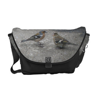 Chaffinch Feed Me Messenger Bag