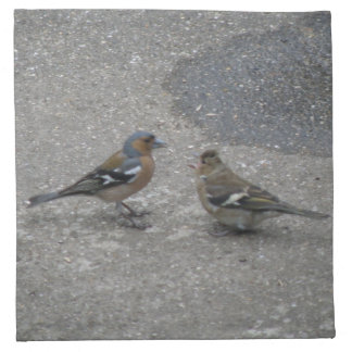 Chaffinch Feed Me Napkin