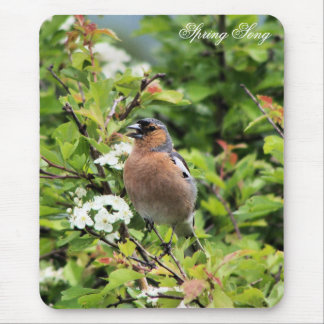 CHAFFINCH MOUSE MAT