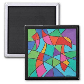 Chai Mosaic I Magnet Fridge Magnet
