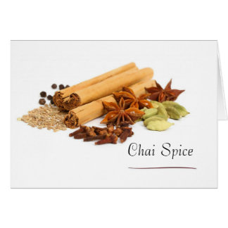 Chai Spice Note Cards