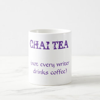 Chai tea coffee mug