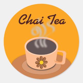 Chai Tea stickers