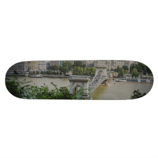 Chain bridge, Budapest Skate Boards