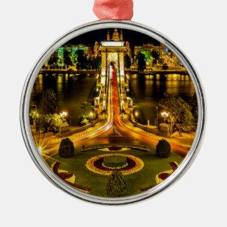 chain bridge budapest united states hungary bridge christmas ornament