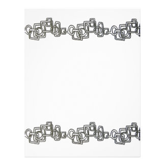 Chain Link - Abstract Art 21.5 Cm X 28 Cm Flyer