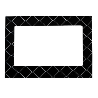 Chain Link Fence Cool Pattern Magnetic Picture Frame