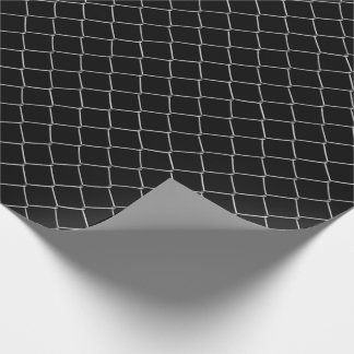 Chain Link Pattern Choose Background Color Wrapping Paper