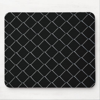 Chain Link Pattern Cool Fun Mouse Pad