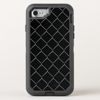 Chain Link Pattern Cool Fun OtterBox Defender iPhone 8/7 Case