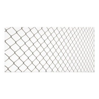 Chain Linked Fence Photo Greeting Card