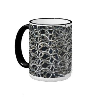 Chain mail ringer mug