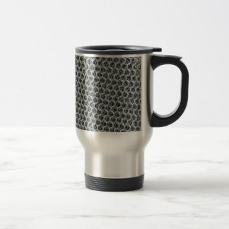 Chain Mail Stainless Steel Travel Mug