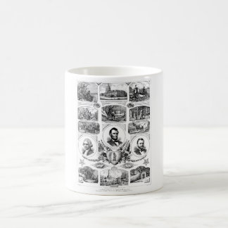 Chain of events in American History Basic White Mug