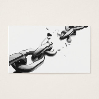 Chain of Freedom Broken Business Card