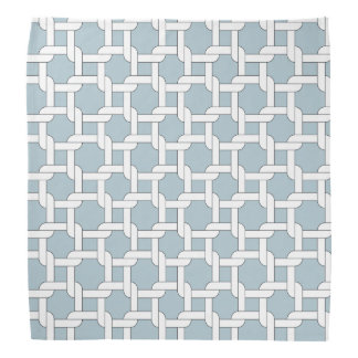 Chain Pastel Blue Formal Colorful Kerchief