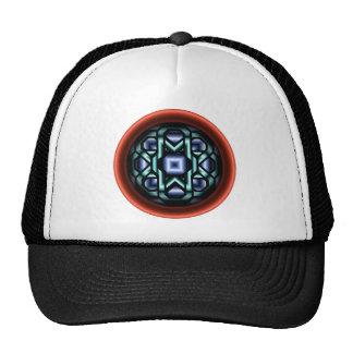 Chain Round Mesh Hats
