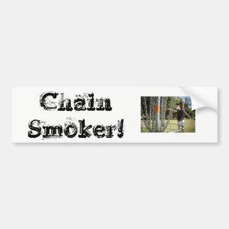 Chain Smoker! DG Sticker