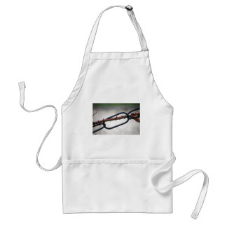 Chained-and-painfull1072 CHAINS ROSE THORNS SYMBOL Standard Apron
