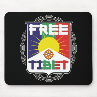 Chained Free Tibet Mousepads