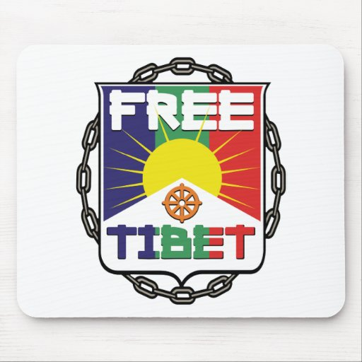 Chained Free Tibet Mouse Pads