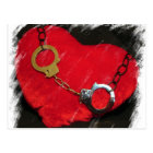 Chained Heart Postcard