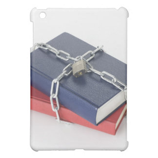 Chained stack of books iPad mini cases