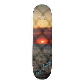 Chained Sunset Skateboard Decks