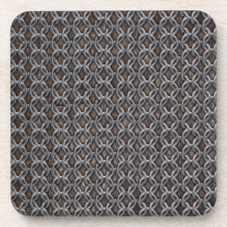 Chainmail Coaster