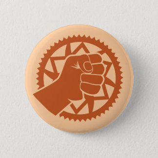 Chainring power revolution 6 cm round badge