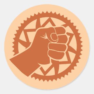 Chainring power revolution stickers
