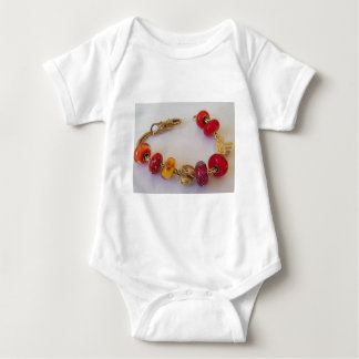 Chains of Love by MelinaWorld Jewellery Baby Bodysuit