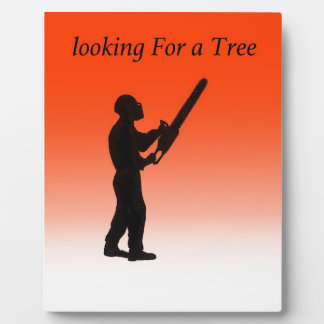 Chainsaw Tree Surgeon Plaques