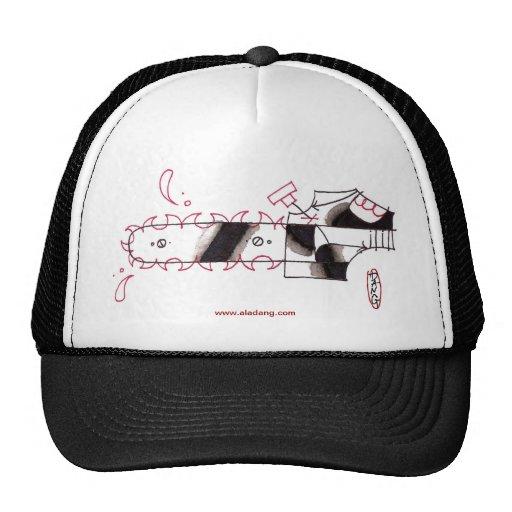 chainsaw trucker hat