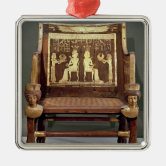 Chair belonging to Princess Satamun Christmas Ornament