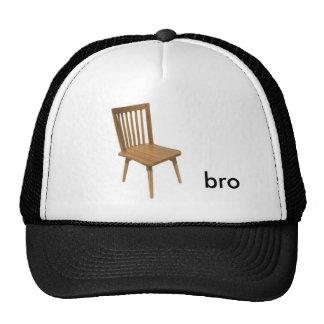 chair bro, trucker hat