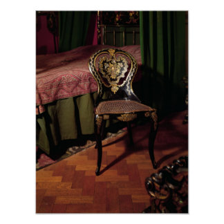 Chair, English, mid 19th century Poster