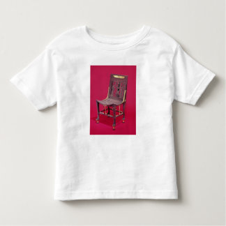 Chair, from the Tomb of Tutankhamun depicting Toddler T-Shirt