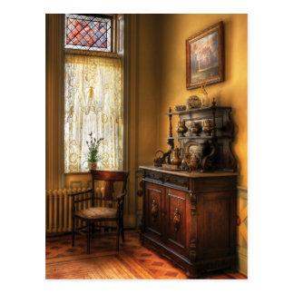 Chair - In the corner of Grandma's Kitchen Postcard