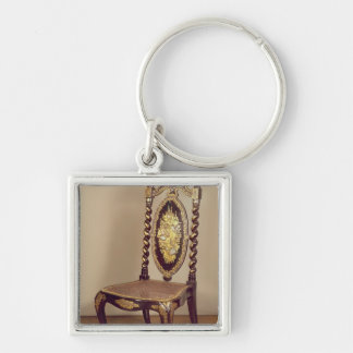 Chair, mid 19th century key ring