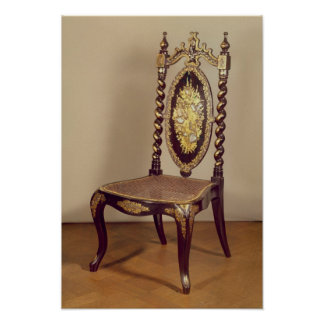 Chair, mid 19th century poster