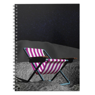 Chair on Moon Notebooks
