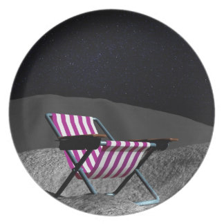 Chair on Moon Plate