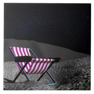 Chair on Moon Tile